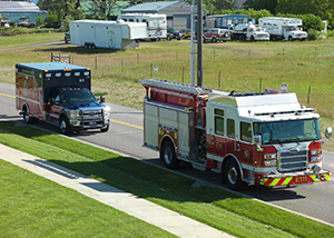 Avoid a Car Accident with An Authorized Emergency Vehicle